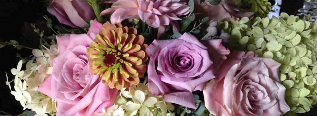 Rooted By Design flower arrangement