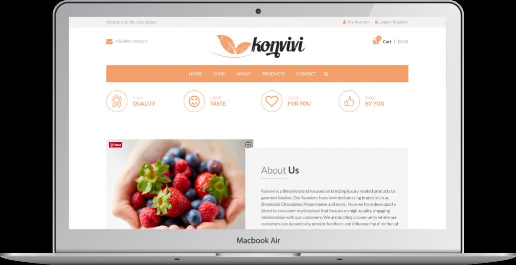 Konvivi screenshot 3